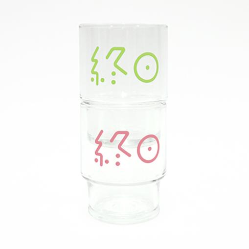 CiDER x CyDER 夏の終日セット(終日麦酒グラス2色セットとCYDERHOUSEのサイダー&コースター) イメージ