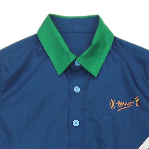 (((さらうんど)))ユニフォームシャツ 2