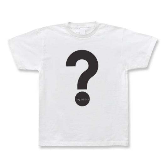 CIDER inc. Tシャツ「?」 ブラック