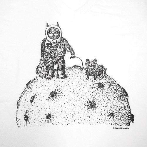 川島明デザインTシャツ『さんぽ』 2