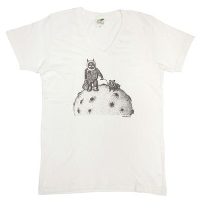 川島明デザインTシャツ『さんぽ』